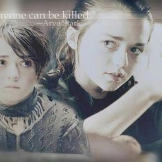 The Games Of Thrones - Arya