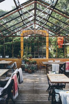 a trip to southern sweden. / sfgirlbybay restaurant in southern sweden photographed by the future ke Greenhouse Bar, Greenhouse Restaurant, Outdoor Seating, Outdoor Spaces, Outdoor Decor, Outdoor Life, Interior Architecture, Interior And Exterior, Cafe House