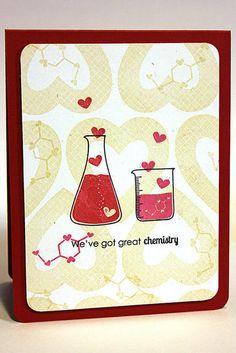 Chemistry Love Card