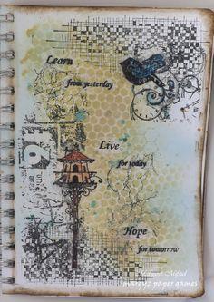 Art Journal - 'Bird House'
