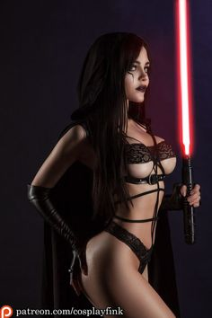 Lady Padmè, Sith by CosplayFink @ cosplayfink.tumblr.com - More at https://pinterest.com/supergirlsart #kristina #fink #christina #kristinafink #christinafink #starwars #star #wars #hot #sexy #cosplay #girl #cosplaygirl #darkside