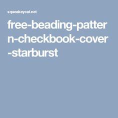 free-beading-pattern-checkbook-cover-starburst