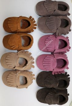 $7.54-10.32  28colors New Suede Genuine Leather Newborn Baby Infant Toddler Moccasins bow Soft Moccs Bebe Soft Soled Non slip Prewalker Shoes-in First Walkers from Mother & Kids on Aliexpress.com | Alibaba Group