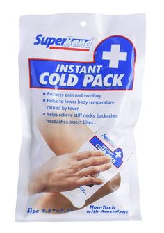 SuperBand® Instant Cold Pack - Pack of 6 for sale online Basic First Aid Kit, Emergency Preparedness, Emergency Kits, Emergency Binder, Survival Kits, 72 Hour Kits, Stiff Neck, Car Buying Tips, Sprained Ankle