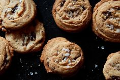 Salted Tahini Chocolate Chip Cookies — Genius Recipes