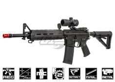 Magpul PTS RM4 Scout Electric Recoil Airsoft Gun By KWA #Airsoft
