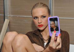 #model #backstage #pretty #self-portrait