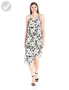 Calvin Klein Jeans Women's Assymetrical Tank Dress, Black, Small - All about women (*Amazon Partner-Link)