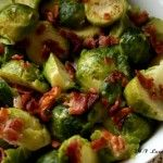 "Bacon Brown ""Sugah"" Brussels Sprouts 