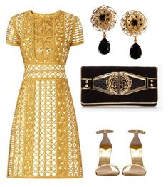 """""""Untitled #626"""" by mchlap on Polyvore featuring Burberry, Dolce&Gabbana and Balmain"""