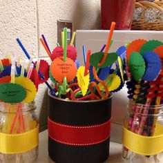 Classroom rewards are always good!! Children need positive reinforcement and this is a good way to reward good behavior. It doesn't seem very hard to make because most of the items you could find at the dollar store or anywhere.