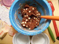 Deep Dish Ramekin Cookies | Tulips & Rain  Love my @Zak Greant Designs mixing bowls!