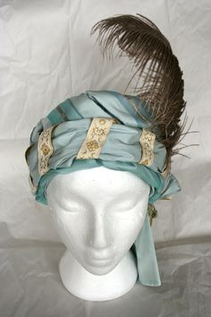Beautiful turban by The Modern Mantua-Maker