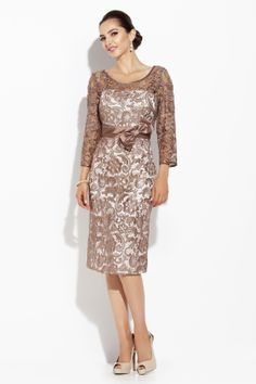 Mother of Bride lace dress, Jolene Collection 2014