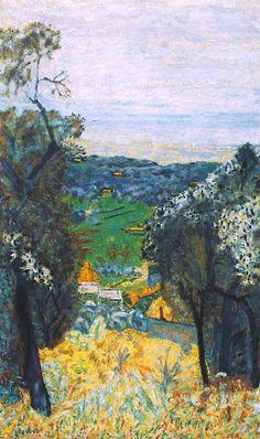 Pierre Bonnard-1926 - Paysage du Cannet