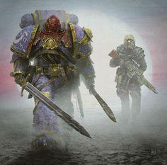 warhammer-fan-art: 「 Audio Book: Censure by Nick Kyme Covert art…