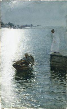 """""""Sommervergnügen"""" - 1886, Anders Zorn."""