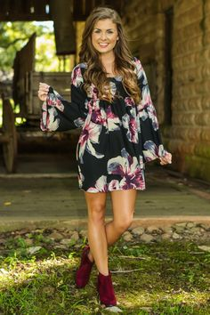 Under The Twilight Dress-Black - New Today   The Red Dress Boutique