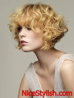 Short Hairstyles for Natural Curly Hair 2014