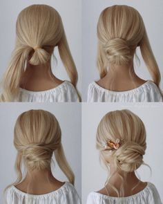 simple step by step hair tutorial for bridal 2020 - Hey-Cinderella, ., simple step by step hair tutorial for bridal 2020 - Hey-Cinderella, There is not any issue with flipping as a result of a spring season curly hair. Hair Dos, Your Hair, Bridal Hair Tutorial, Chignon Tutorial, Bridesmaid Hair Tutorial, Diy Wedding Hair, Wedding Makeup, Simple Wedding Updo, Wedding Hair Tutorials