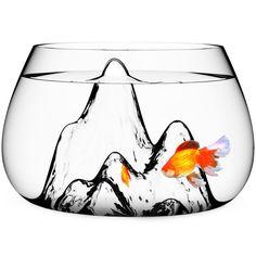 Aruliden Glasscape Underwater Landscape Fish Bowl on AHAlife