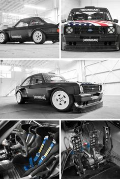 Ken Block's New Ford Escort Gymkhana Car - Voiture Ken Block, Ford Rs, Car Ford, Ford Capri, Hot Rods, Celebrity Cars, Ford Escort, Modified Cars, Rally Car