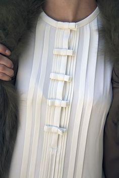 barbarasangi - Diane Von Furstenberg, available at Splash City, Limassol. Photography by Filep Motwary © 0714 Western Tops, Western Wear, Sleeve Designs, Blouse Designs, Neckline Designs, Designer Wear, Designer Dresses, Fabric Manipulation, Mode Vintage
