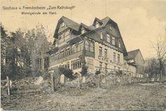 Historische Aufnahme vom Ausflugslokal zum Rathskopf.