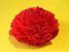 Servietten-Rose basteln