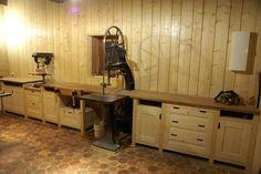 Du bois et de la terre, un atelier de menuiserie