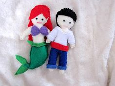 Hey, I found this really awesome Etsy listing at https://www.etsy.com/listing/128155082/ariel-or-eric-handstitched-doll-the