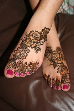 henna designs for feet   Hina Mehndi Designs and Beauty: Mehndi Designs for Foot