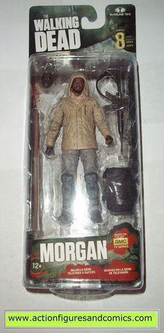 The Walking Dead MORGAN tv series 8 mcfarlane toys action figures