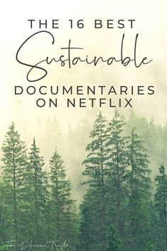 Looking for the best Sustainable Netflix documentaries? We've found 16 must-see documentaries about sustainability, eating vegan, plastic pollution and climate change. Green Life, Go Green, Natural Living, Simple Living, Vie Simple, Netflix Documentaries, Plastic Pollution, Sustainable Living, Sustainable Fashion