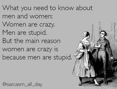 What you need to know about men and women...