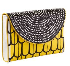 To know more about marimekko kippis clutch, visit Sumally, a social network that gathers together all the wanted things in the world! Featuring over other marimekko items too! Bag Jeans, Marimekko Bag, Fashion Bags, Fashion Accessories, Yellow Purses, Satchel Purse, Clutch Bags, Fabric Bags, Fabric Shop
