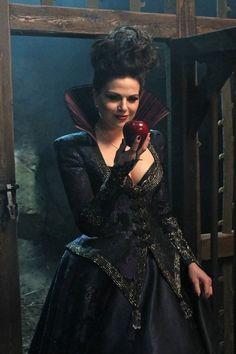 Regina/Evil Queen from 'Once Upon a Time' - she's so deliciously evil
