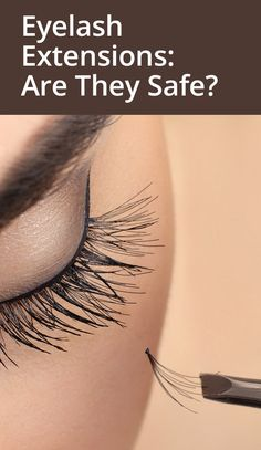 Learn all about eyelash extensions including cost, safety and how to remove them. Eyelash Extension Removal, Eyelash Extensions Styles, Eye Safety, How To Remove, How To Apply, Alternative Treatments, Holistic Healing, Natural Makeup, Skin Care Tips