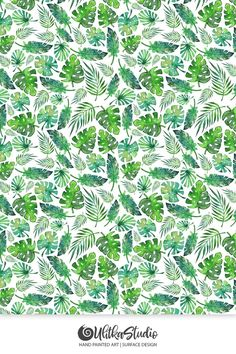 watercolor, watercolour, seamless, pattern, tropic, foliage, floral, leaf, exotic, tropical, greenery, green, palm, print, aquarelle, background, plant, texture, flower, wallpaper, jungle, repeat, tree, fabric, summer, painting, beach, textile, decoration, abstract, flora, illustration, nature, trendy, botanical, hand, painted, drawn, paradise, art, backdrop, drawing, forest, decor, water, colour, color, paint, rainforest, colorful
