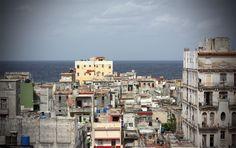 La vue sur la ville, bordée par le Golfe du Mexique.   #Cuba #LaHavane #Havane #Carmen #CarmenLaCubana #TheatreDuChatelet