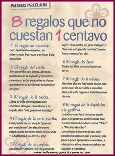 refleccion de matrimonio escritas   Reflexiones para TI y para MÍ: * 8 Regalos que no cuestan 1 centavo ...
