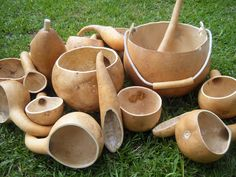 Using Gourds....