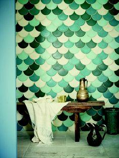 carreaux carrelages sdb ciment bain marocaine zellige tiles inspiration dco couleurs en tout