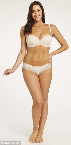 Before: A size 12, model Katie Green isn't plus sized