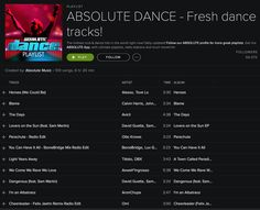 Thank you ABSOLUTE DANCE for adding StoneBridge, Luv Gunz & Koko LaRoo 'You Can Have It All' to your ABSOLUTE DANCE - Fresh Dance Tracks! Playlist on #Spotify - you rock!! http://open.spotify.com/user/absolutedance/playlist/2gDx7Ly0IigyBSSoyMXkWq