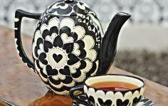Stoned Cherrie teapot