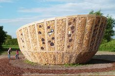 Magazine - Sustainable Pavilion Containing Corn