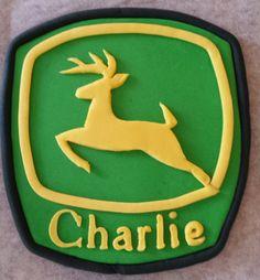 Fondant logo with name
