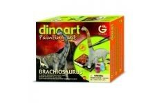 GeoWorld Dinoart Brachiosaurus Painting Kit $12.99 in stock & fast same day shipping! Shop www.DinosaurToysSuperstore.com