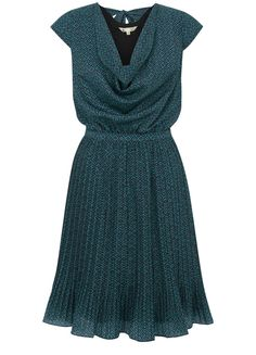 Maze Print Dress